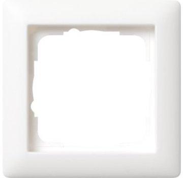 GIRA afdekraam 1-voudig Standaard 55 wit mat (021104)
