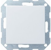 GIRA drukvlakschakelaar kruisschakelaar Systeem 55 wit mat (012727)