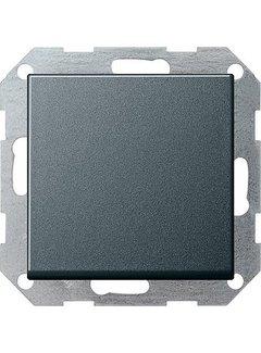 GIRA drukvlakschakelaar wisselschakelaar Systeem 55 antraciet mat (012628)