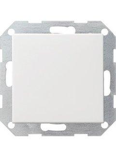 GIRA drukvlakschakelaar wisselschakelaar Systeem 55 wit mat (012627)