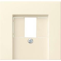 GIRA centraalplaat USB Systeem 55 creme glans (027601)