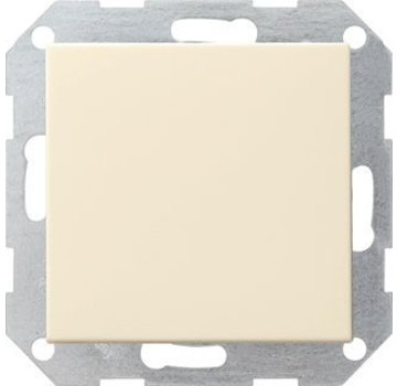 GIRA drukvlakschakelaar kruisschakelaar Systeem 55 creme glans (012701)