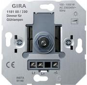 GIRA draaidimmer 100-1000 Watt (118100)