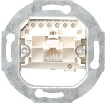 GIRA RJ45 telefoon wandcontactdoos CAT3 1-voudig (017900)