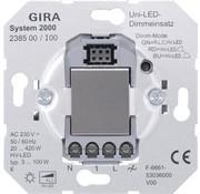 GIRA Systeem 2000 tastdimmer LED 3-100 Watt (238500)