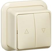 GIRA jaloeziedrukcontact opbouw creme (015810)
