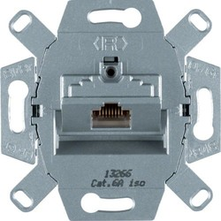 Berker RJ45 data wandcontactdoos CAT6A 1-voudig (4586)