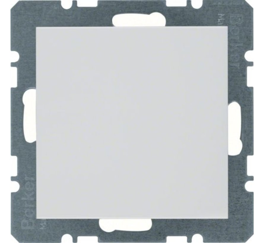 blinddeksel incl. draagframe S1/B3/B7 wit glans (10098989)