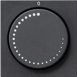 GIRA draaiknop toerentalregelaar Systeem 55 antraciet mat (065228)