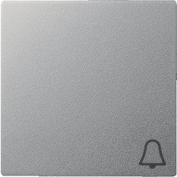GIRA schakelwip symbool bel Systeem 55 aluminium mat (028626)