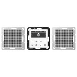 JUNG smart radio set stereo DAB + Bluetooth (DAB A2 BT WW)