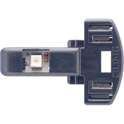 JUNG led-lamp voor schakelaar en impulsdrukker 230V-1,1ma groen (90-LED GN)