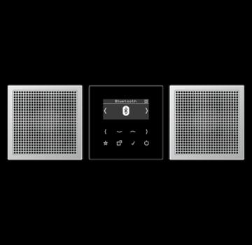 JUNG smart radio stereo set met DAB en Bluetooth (DAB AL2 BT)