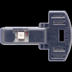 JUNG led-lamp voor schakelaar en impulsdrukker 230V-1,1ma rood (90-LED RT)