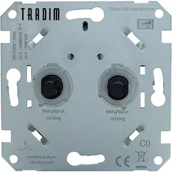 Tradim digitale duo dimmer voor LED (2496)