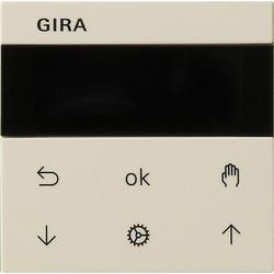 GIRA jaloezie- en schakelklok knop met display Systeem 3000 Systeem 55 creme (536601)