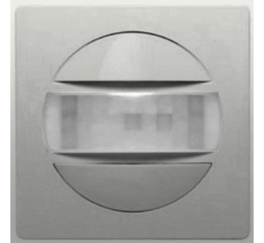bewegingsmelder Triac inbouw 160 gr. Badora aluminium (11.484.70 BM)