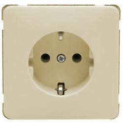 PEHA wandcontactdoos randaarde kindveilig Standard creme (80.6511 SI W)