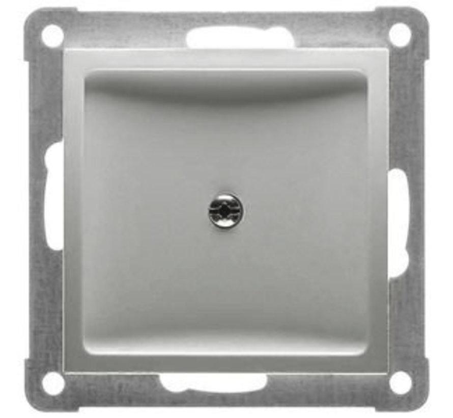 blindplaat met draagframe Badora aluminium (11.477.70)