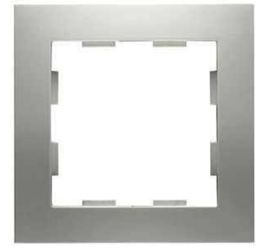 afdekraam 1-voudig Badora aluminium (11.571.70)