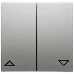 PEHA schakelwip 2-voudig jaloezie Badora aluminium (11.544.70)