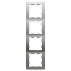 PEHA afdekraam 4-voudig Badora aluminium (11.574.70)