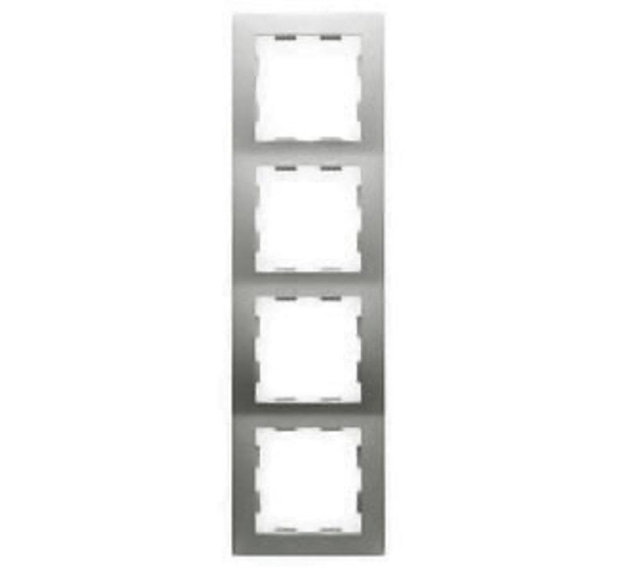 afdekraam 4-voudig Badora aluminium (11.574.70)