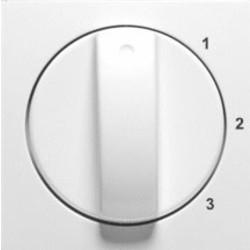 PEHA draaiknop driestandenschakelaar 1-2-3 Badora levend wit (11.610.02 S 123)