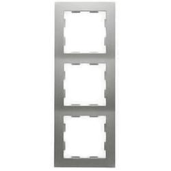 PEHA afdekraam 3-voudig Badora aluminium (11.573.70)