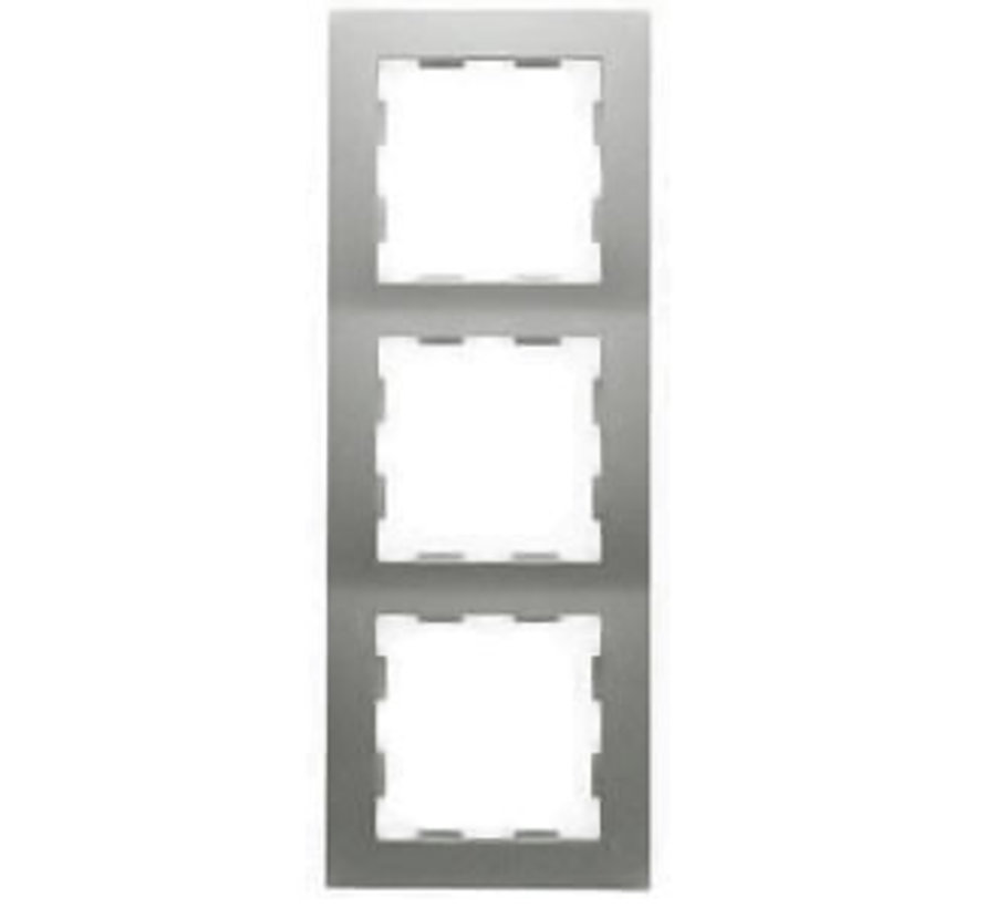 afdekraam 3-voudig Badora aluminium (11.573.70)