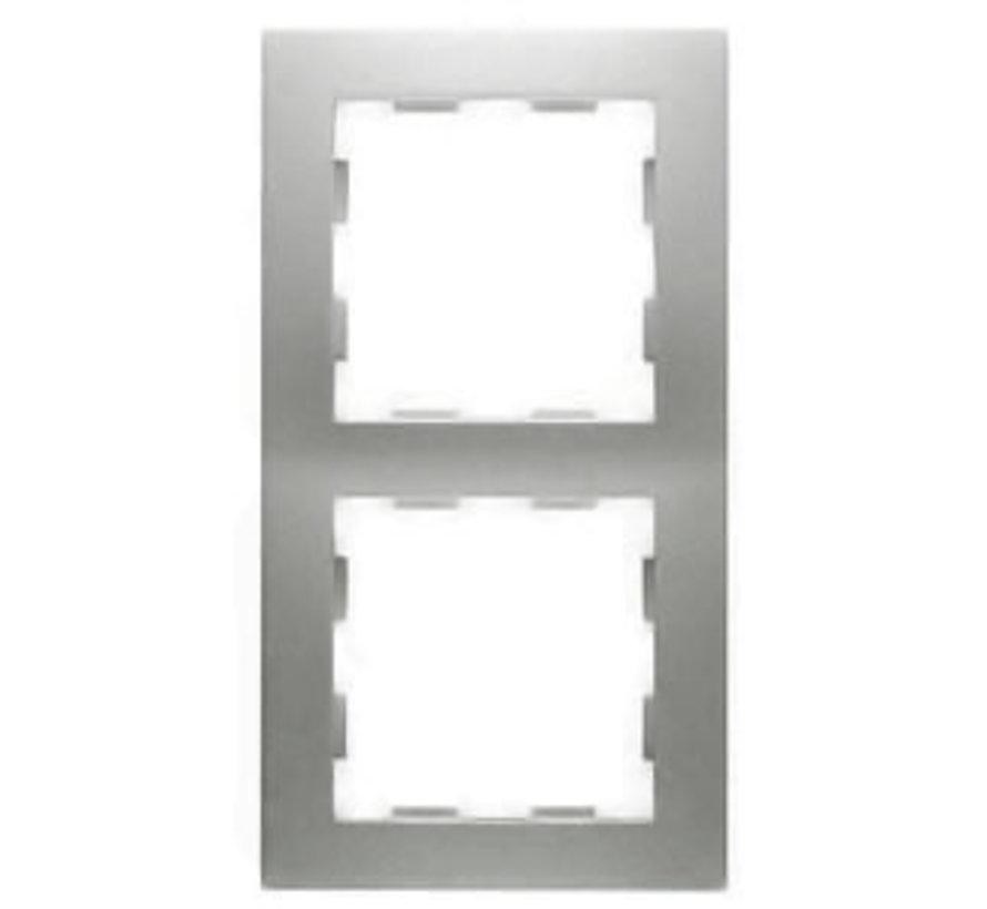 afdekraam 2-voudig Badora aluminium (11.572.70)