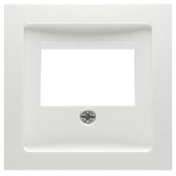 PEHA centraalplaat voor luidspreker/USB contactdoos Badora levend wit (11.610.02 TAE)