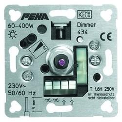 PEHA draai/drukknop dimmer 60-400W (434 O.A.)