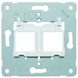 PEHA draagring Modular jack 10 grijs (600 MJ10)