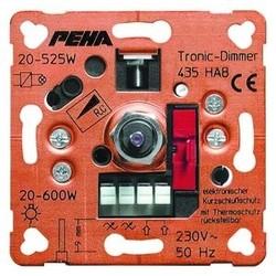PEHA draai/drukknop dimmer 20-600W (435 HAB O.A.)