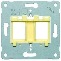 PEHA draagring Modular jack 4 geel (600 MJ4)