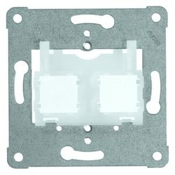 PEHA draagring Modular jack 2 transparant (600 MJ2)