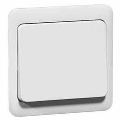 PEHA bedieningsknop voor tastdimmer en relaisschakelaar Standard levend wit (80.420.02)