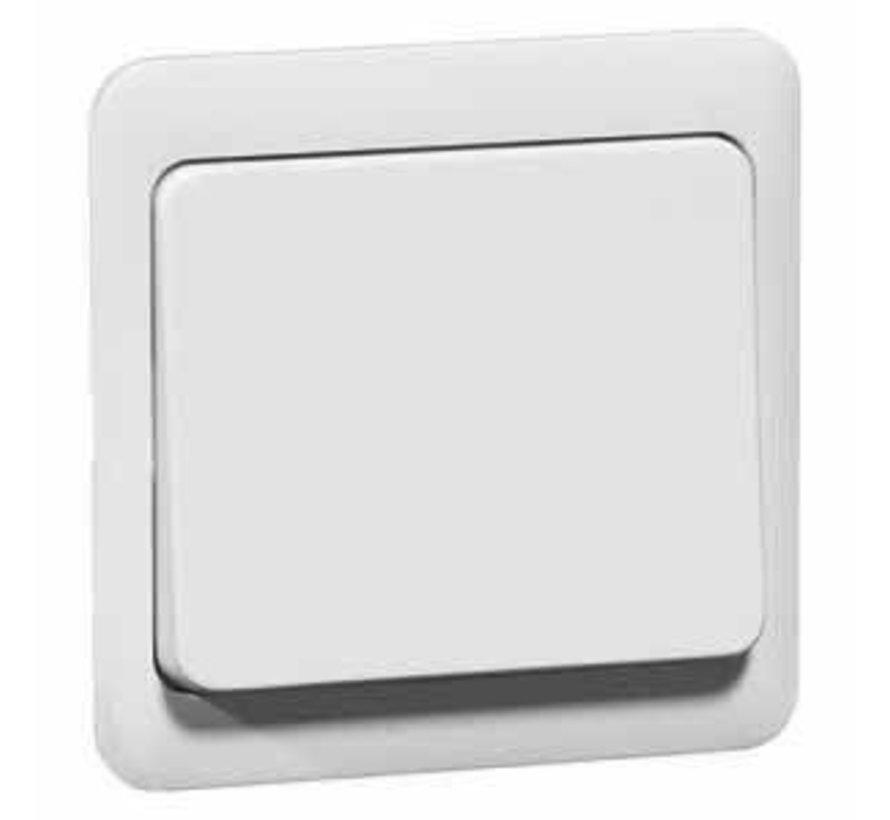 bedieningsknop voor tastdimmer en relaisschakelaar Standard levend wit (80.420.02)