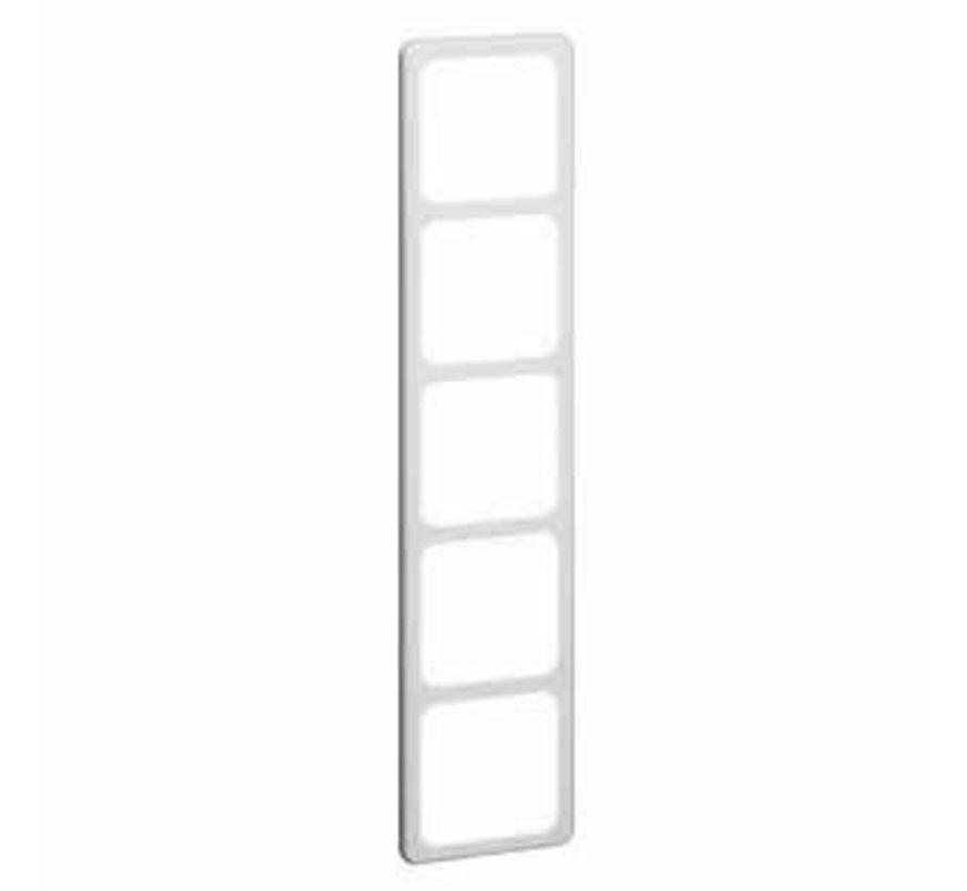 afdekraam 5-voudig Standard levend wit (80.675.02)