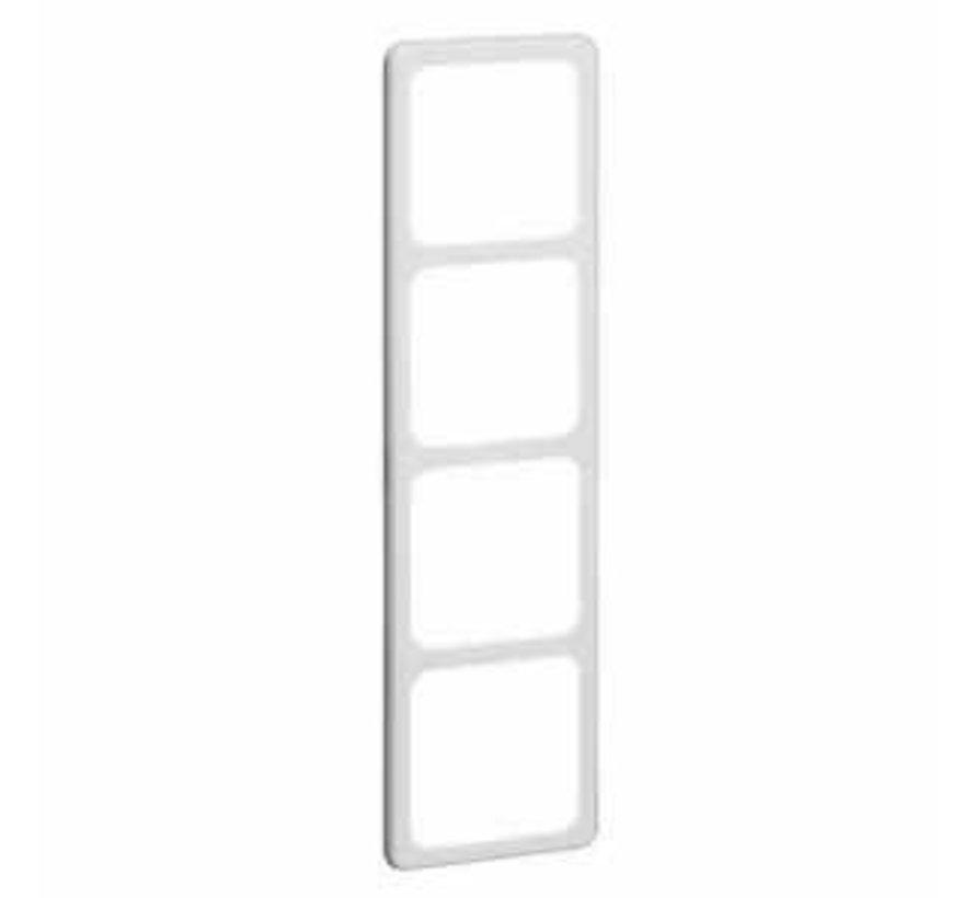 afdekraam 4-voudig Standard levend wit (80.674.02)
