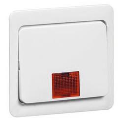 PEHA schakelwip met controlevenster groot Standard levend wit (80.640.02 N GLK)
