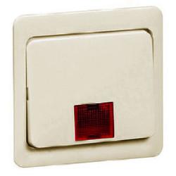 PEHA schakelwip met controlevenster groot Standard creme (80.640 N GLK W)