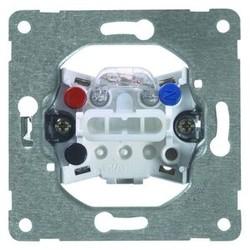 PEHA enkel drukcontact terugverend met controlelamp 1 wisselcontact (556 GLK)