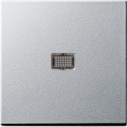 GIRA schakelwip controlevenster groot Systeem 55 aluminium mat (029826)