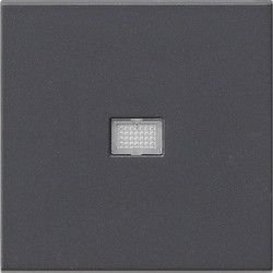 GIRA schakelwip controlevenster groot Systeem 55 antraciet mat (029828)