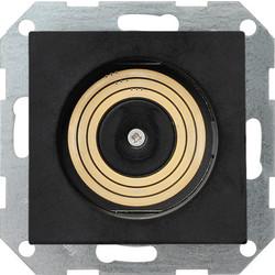 GIRA Plug & Light lichtcontactdoos zwart mat (2688105)