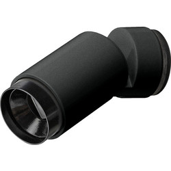 GIRA Plug & Light spot dimbaar warm dimmen zwart mat (2695105)