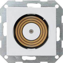 GIRA Plug & Light lichtcontactdoos met vergrendeling wit glans (2685102)