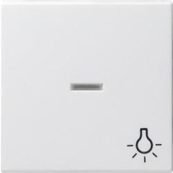 GIRA schakelwip controlevenster symbool licht Systeem 55 wit glans (067403)